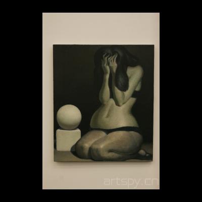 《女人体和几何形体》