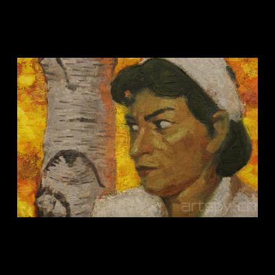 《无题(护士和树)》