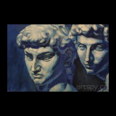 《石膏像(大卫和美帝奇)》