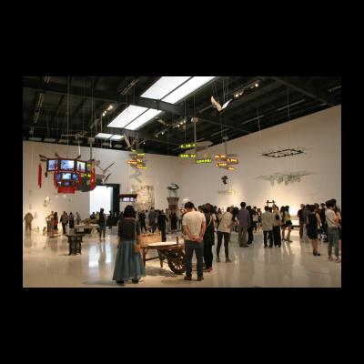 邱志杰,《邱注上元灯彩图》,综合媒体装置,2010-至今