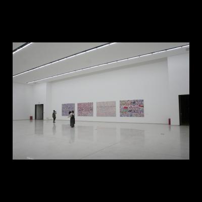 吴山专,《肉在那里,把爱放在那里,指数的》,共4件,2013