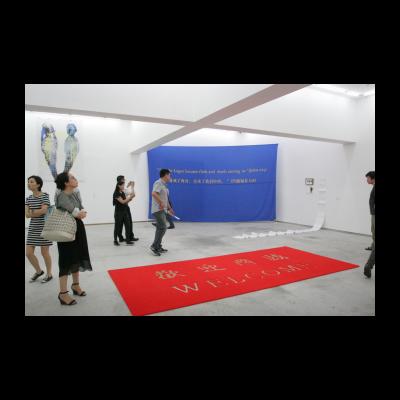 郭熙,最后的故事:上帝与网友,地毯 旗帜 照片 聊天记录,2014