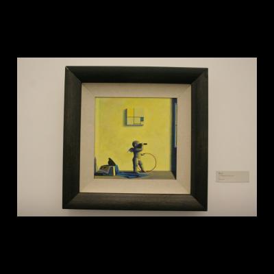 刘野,《为了M的黄和蓝》,1995
