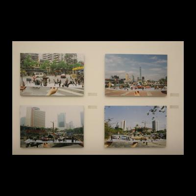 陈绍雄,《街景之三》,1998