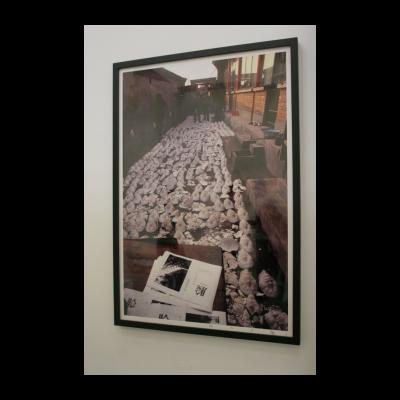 苍鑫,《面具》(行为),1994