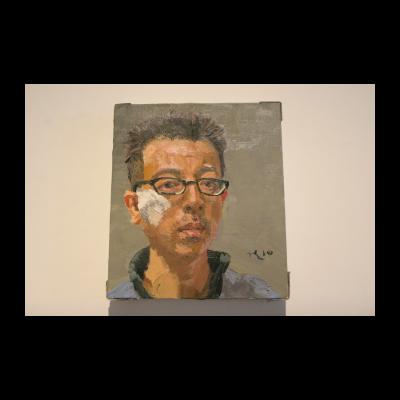 刘小东,自画像,2010