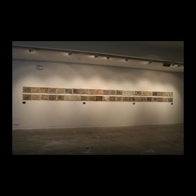 """《屋漏痕》之一""""抹布"""",任戬,2014"""