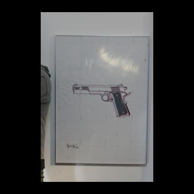 苏文祥,手枪