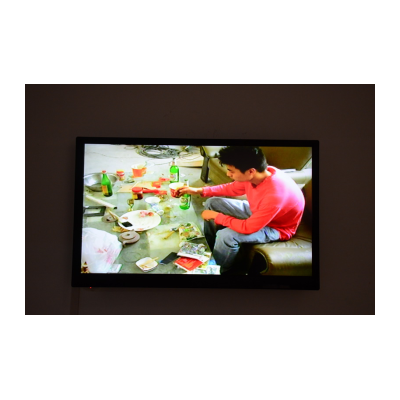 梁硕录像《15分钟的行为》